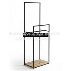 Напольная металлическая стойка для одежды Элит 4 Платон 38