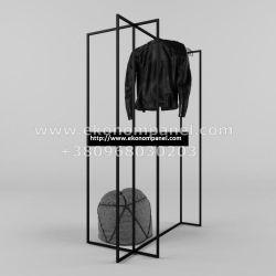 Напольная металлическая стойка для для одежды
