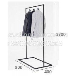 Напольная металлическая стойка для для одежды Платон 79