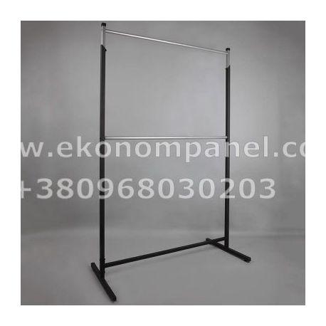 Напольная металлическая стойка для одежды Платон 1
